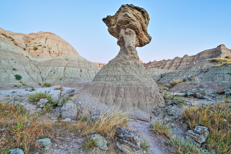 Balancing Rock in the Badlands National Park
