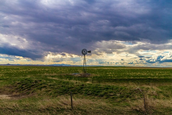 Windmill east of Rapid City