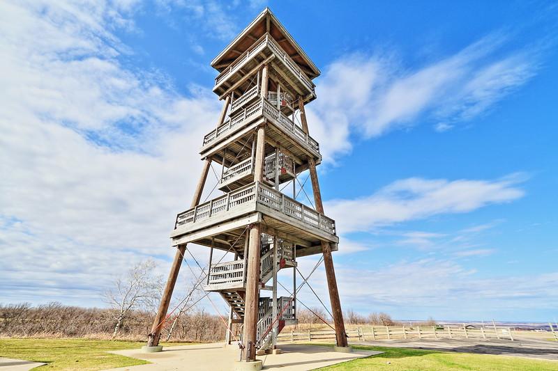 Nicollet Tower near Sisseton