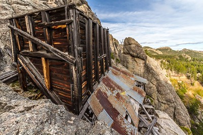 November Mine remnants in Custer State Park