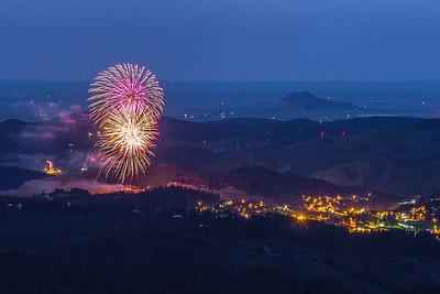 Fireworks in Lead