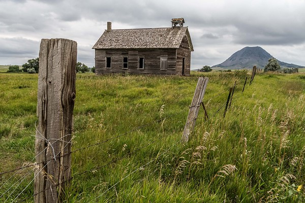 Spring Creek School near Bear Butte