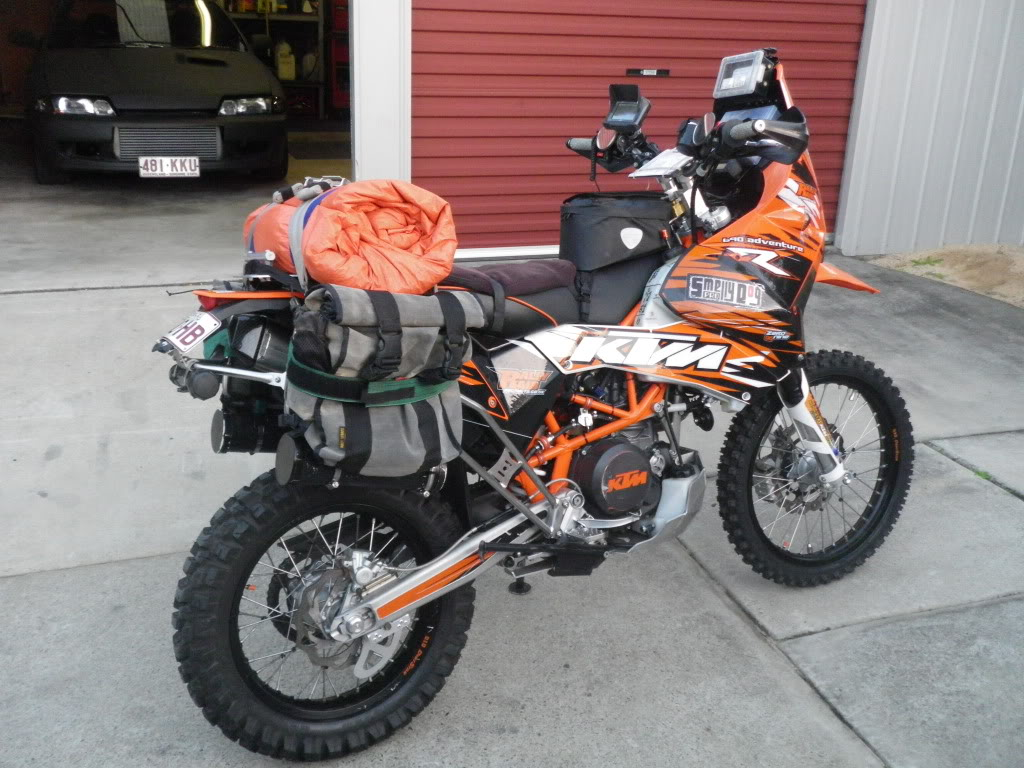 my original ktm 690 rally raid build and history so far
