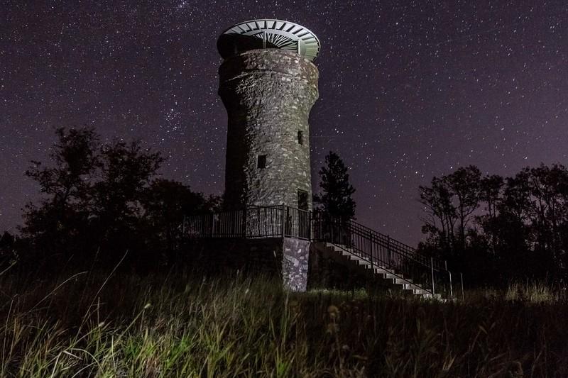 Friendship Tower on Mount Roosevelt near Deadwood