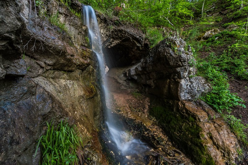 Above Community Caves in Spearfish Canyon