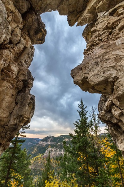 Arch in Spearfish Canyon