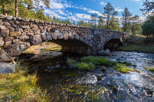 Bridge over French Creek in Custer State Park