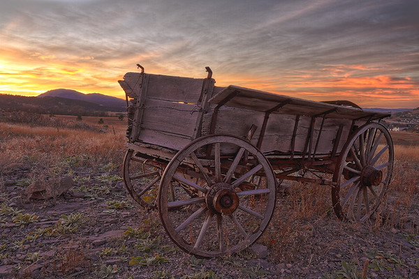 Sunset at the High Plains Western Heritage Center in Spearfish