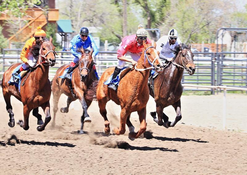 Horse races in Ft. Pierre