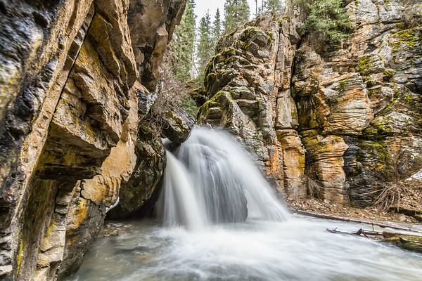 Annie Creek Falls in Spearfish Canyon