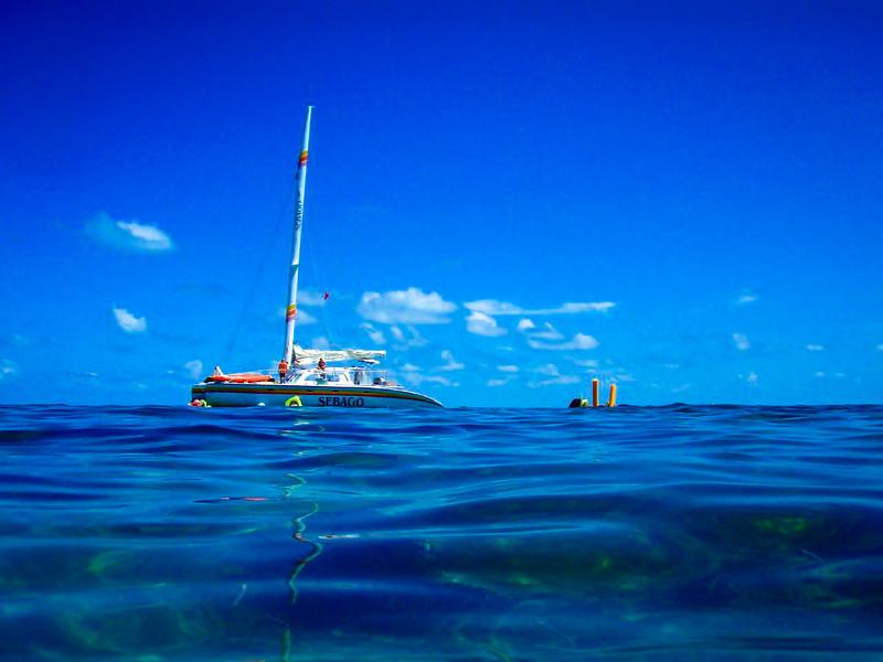 Key West submerged