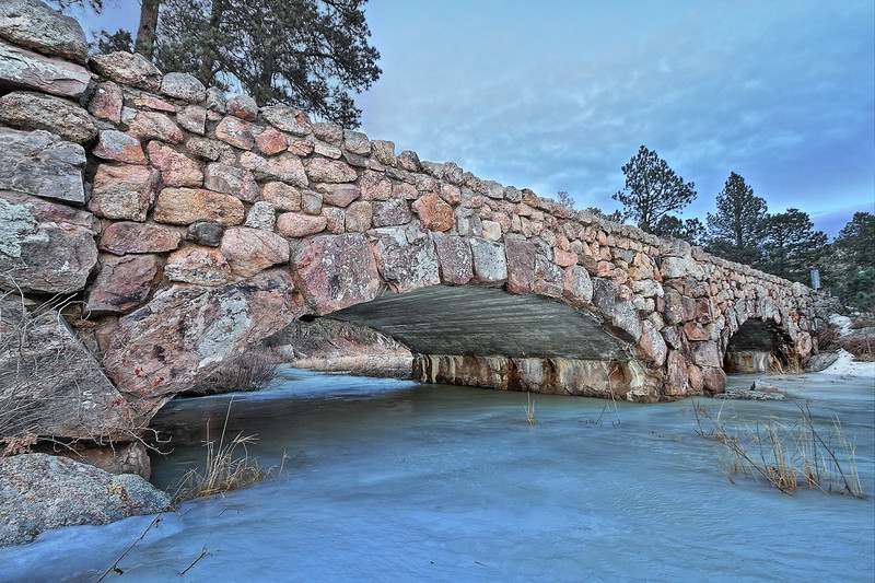 French Creek Bridge in Custer State Park