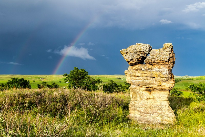 Rainbow near Belle Fourche