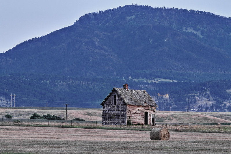 Old abandoned house near Spearfish