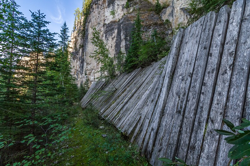 Aqueduct in Spearfish Canyon