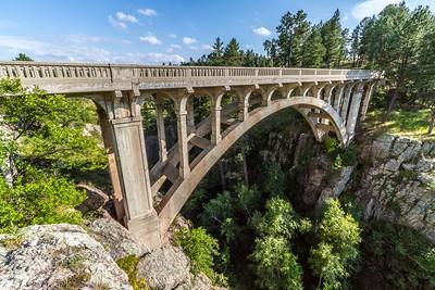 Beaver Creek Bridge in Wind Cave National Park