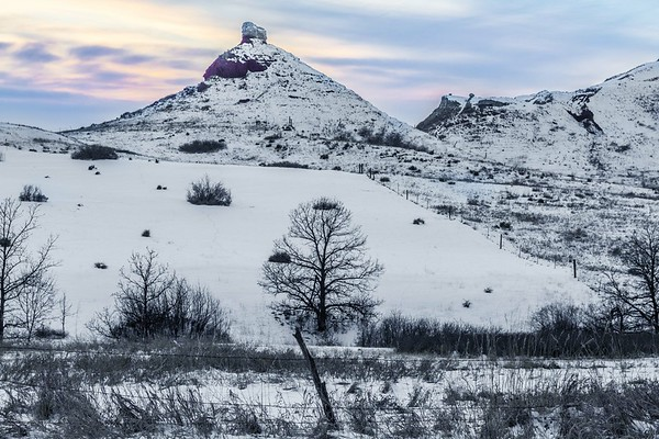 Along Lookout Mountain Road near Spearfish