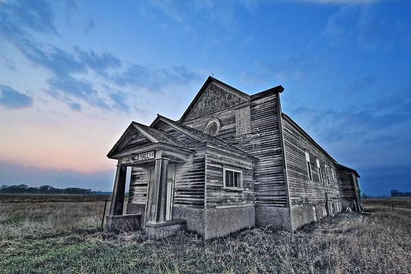 Garfield Hall near Beresford south of Sioux Falls