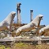 Delos lions