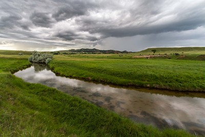Storm over Crow Creek northwest of Spearfish