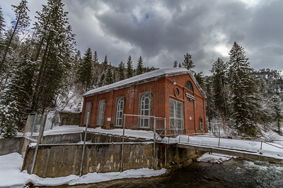 Hydroelectric Plant in Spearfish Canyon