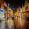 Salisbury Street at Night