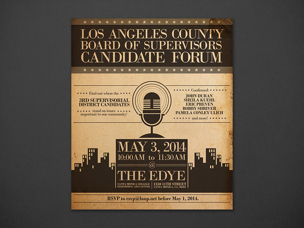 Los Angeles County Board of Supervisors Candidate Forum
