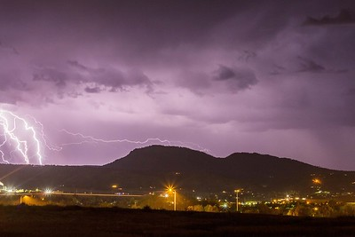 Lightning over Spearfish