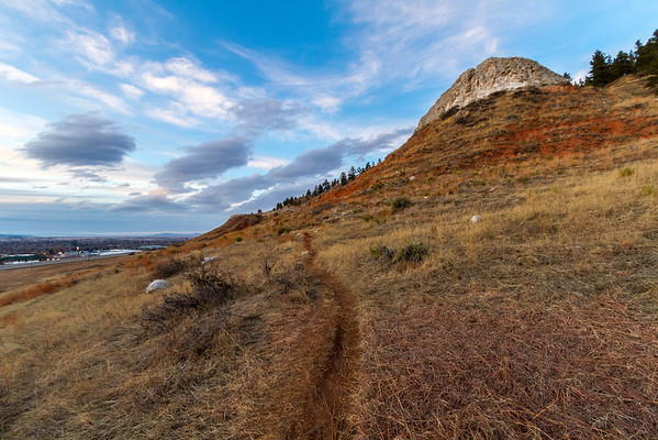 Trail on Lookout Mountain in Spearfish