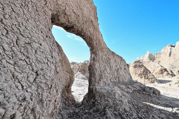 Arch in the Badlands
