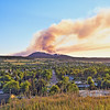 Crow Peak Fire in Spearfish