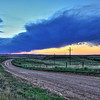 Sunset along Lookout Mountain Road near Spearfish