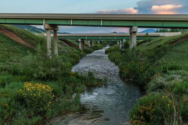 Bridges over Spearfish Creek