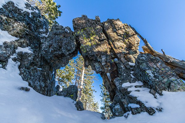 Arch on Custer Peak