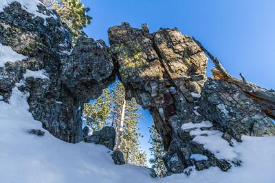 Arch on Custer Peak