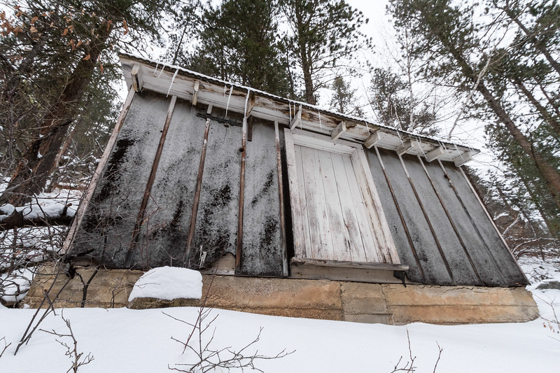 Old structure in Spearfish Canyon