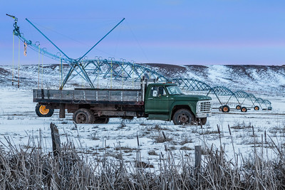 Old truck along Chicken Creek Road