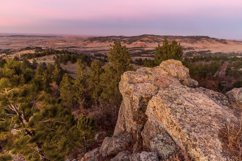 View from Lookout Mountain in Spearfish