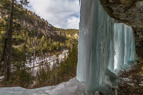 Baker's Cave in Spearfish Canyon