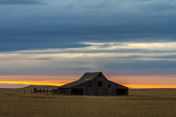 Barn near Bear Butte