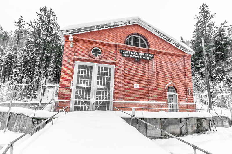 Hydroelectric Plant #2 in Spearfish Canyon