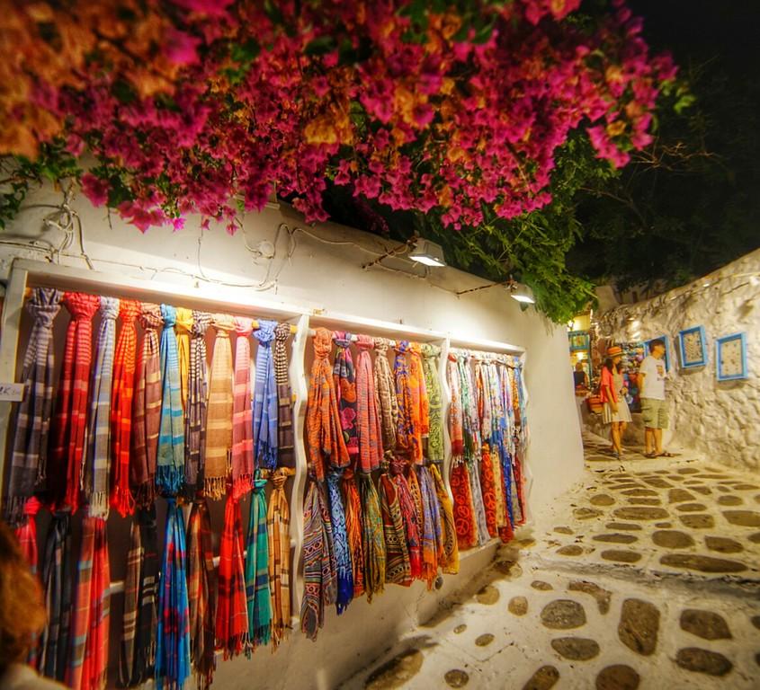 Santorini shop