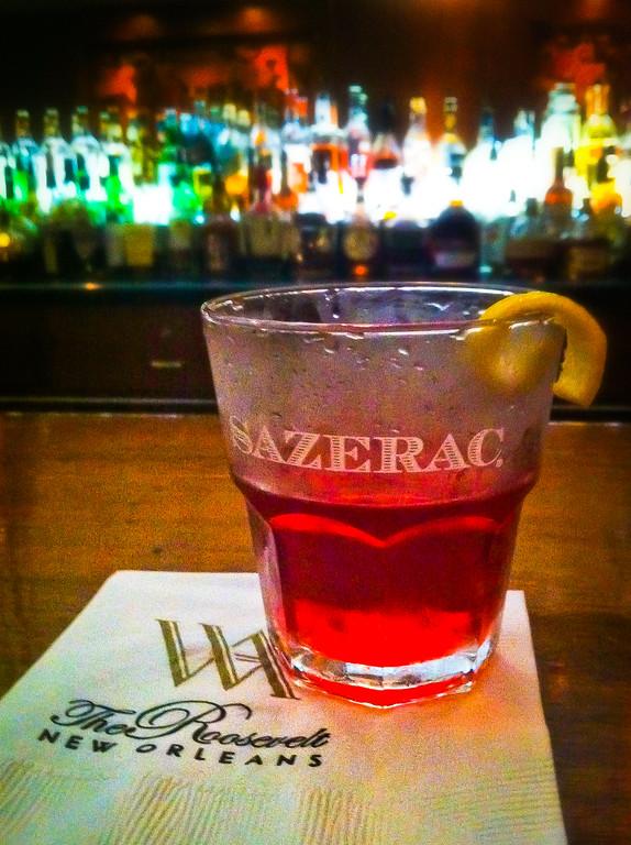 Sazerac Roosevelt Hotel New Orleans