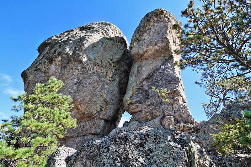 Beecher Rock south of Custer