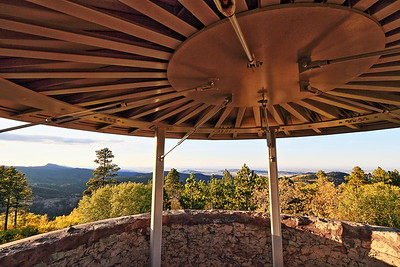 View from the Friendship Tower on Mount Roosevelt near Deadwood