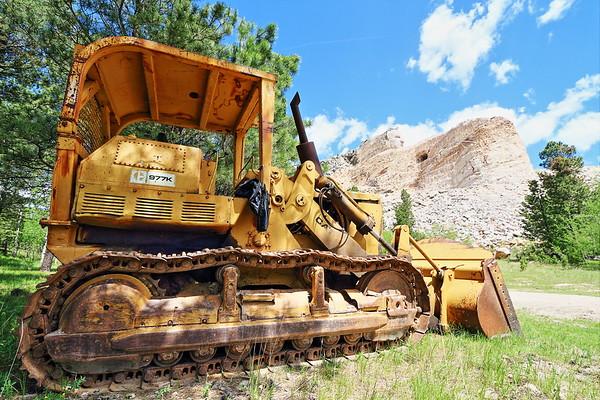 Equipment at Crazy Horse Memorial