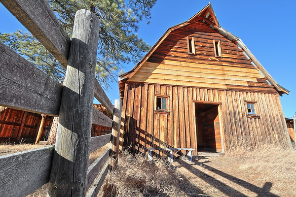 Barn at the Meeker Ranch near Custer