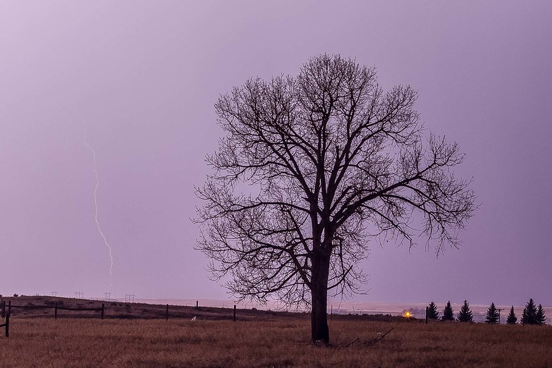 Lightning over Spearfish