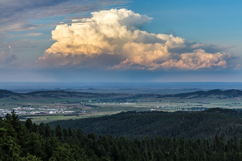 Storm north of Spearfish