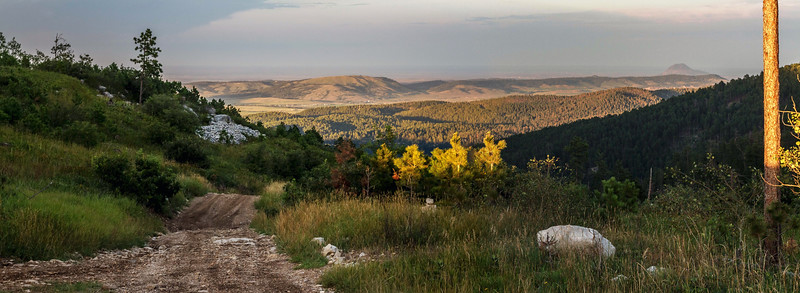 View from Richmond Hill Road near Spearfish